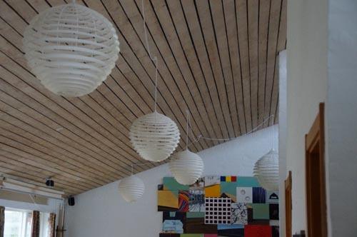 Dansk interiør design med lamper fra cocon